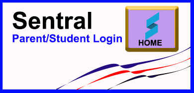 Button for Parent and Student Sentral login
