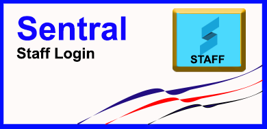 Button for Staff Sentral login